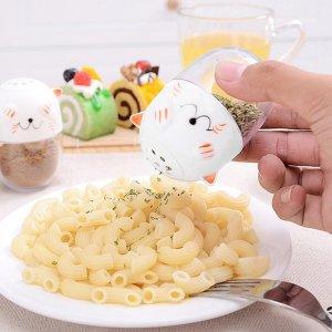 1шт случайный диспенсер для приправ в форме яйца SHEIN. Цвет: многоцветный