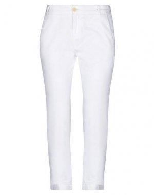 Повседневные брюки CURRENT/ELLIOTT. Цвет: белый