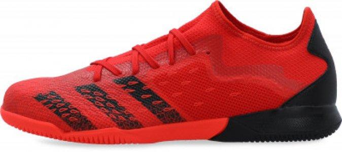 Бутсы мужские adidas Predator Freak .3 L IN, размер 44. Цвет: красный