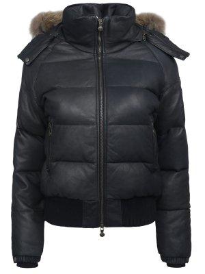 Кожаная куртка PYRENEX