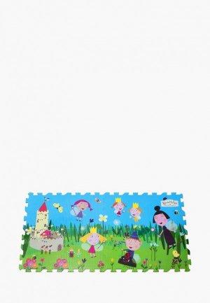 Коврик детский Росмэн Коврик-пазл «Бен и Холли». Цвет: разноцветный
