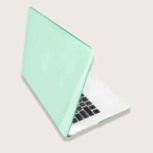 Чехол для ноутбука 13 дюймов MacBook Air SHEIN. Цвет: зелёный