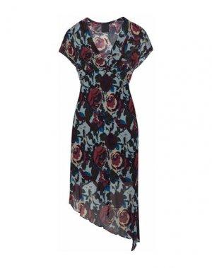 Платье до колена ANNA SUI. Цвет: черный