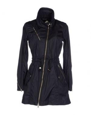 Легкое пальто HOGAN. Цвет: темно-синий