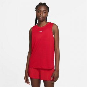 Женская теннисная майка Court Advantage - Красный Nike