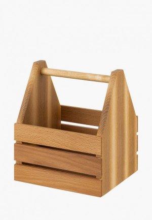 Органайзер для хранения Elan Gallery. Цвет: коричневый
