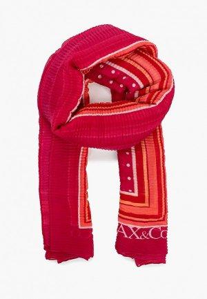 Палантин Max&Co INCONTRO. Цвет: розовый