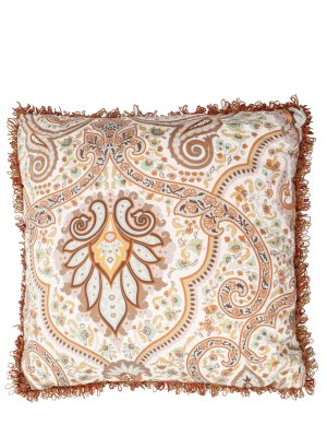 Подушка с принтом ETRO