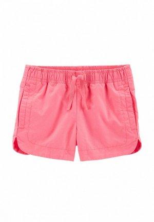 Шорты Carter's. Цвет: розовый