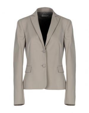 Пиджак ANGELO MARANI. Цвет: серый