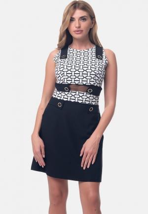 Платье Arefeva. Цвет: разноцветный