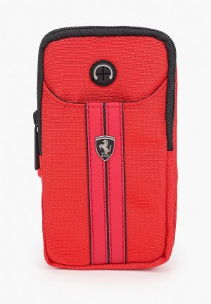 Чехол для телефона Ferrari смартфонов на плечо Armband Red. Цвет: красный