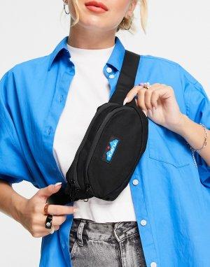Черная сумка-кошелек на пояс из парусины Kavu Spectator-Черный цвет