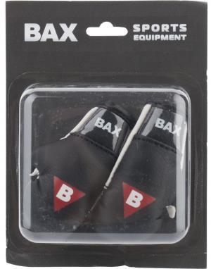 Сувенирные перчатки BAX. Цвет: черный