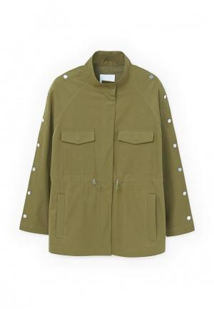 Куртка Mango - SNAPS. Цвет: хаки