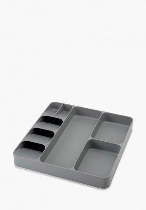 Подставка для кухонных инструментов Joseph DrawerStore. Цвет: серый