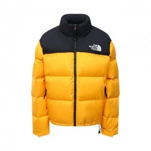 Куртка The North Face. Цвет: золотой