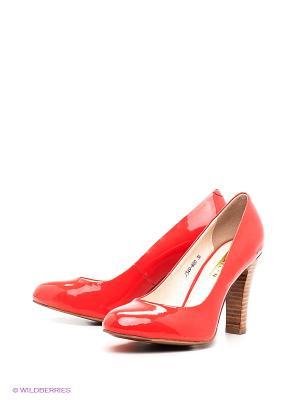 Туфли LENA MILAN. Цвет: оранжевый