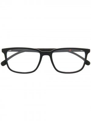 Очки с прозрачными линзами Carrera. Цвет: черный