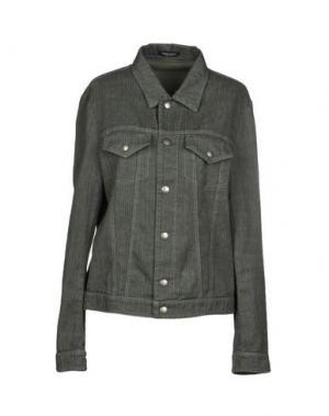 Куртка ROBERTO COLLINA. Цвет: зеленый-милитари