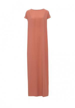 Платье Tutto Bene. Цвет: бежевый