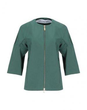 Пиджак GEOSPIRIT. Цвет: зеленый