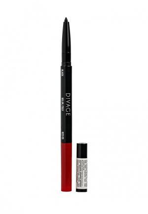 Карандаш для глаз Divage и губ автоматический Double Line Eye&Lip Pencil № 05. Цвет: разноцветный