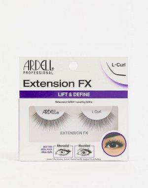 Накладные ресницы Extension FX L-Черный цвет Ardell