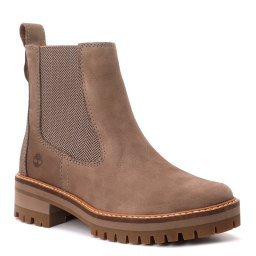 Ботинки Courmayeur Valley Chelsea серо-коричневый TIMBERLAND