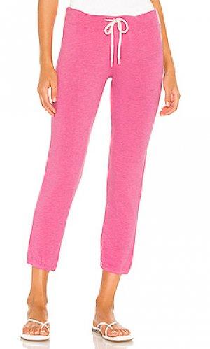 Спортивные брюки supersoft vintage MONROW. Цвет: розовый