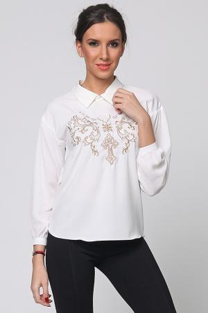 Блузка Cocogio. Цвет: белый