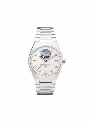 Наручные часы Highlife Ladies Automatic Heart Beat 34 мм Frédérique Constant. Цвет: белый