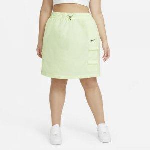 Юбка Nike Sportswear Swoosh (большие размеры) - Желтый