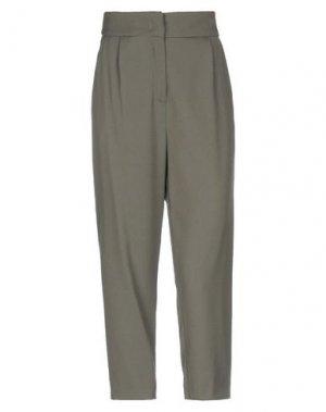 Повседневные брюки ICONA by KAOS. Цвет: зеленый-милитари