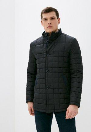 Куртка утепленная Bazioni. Цвет: черный