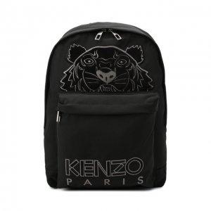 Текстильный рюкзак Kenzo. Цвет: чёрный