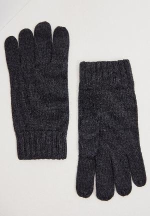 Перчатки Polo Ralph Lauren. Цвет: серый