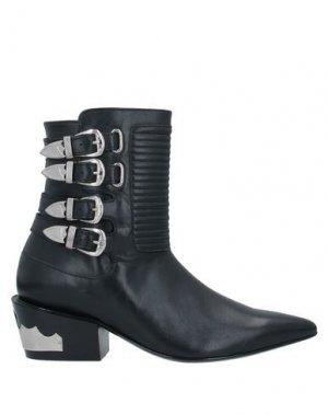 Полусапоги и высокие ботинки TOGA PULLA. Цвет: черный
