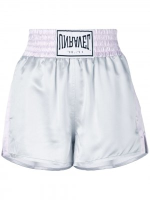 Boxing shorts UNRAVEL PROJECT. Цвет: серый
