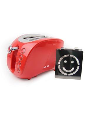 Тостер AKAI. Цвет: красный