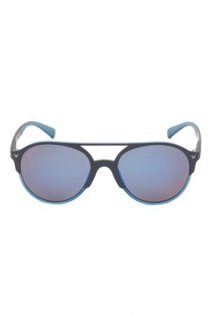 Очки солнцезащитные Police. Цвет: синий