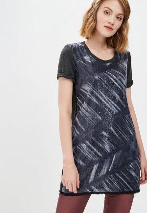 Платье Custo Barcelona. Цвет: серый