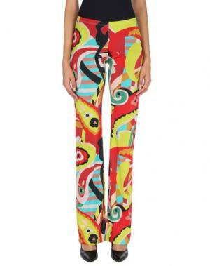 Повседневные брюки COMPAGNIA ITALIANA. Цвет: красный