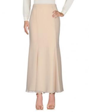 Длинная юбка LEXUS. Цвет: бежевый