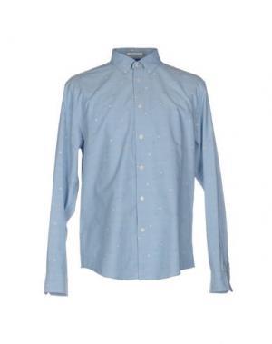 Pубашка BEN SHERMAN. Цвет: небесно-голубой