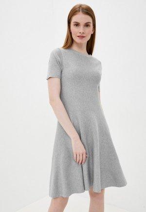 Платье Tantra. Цвет: серый