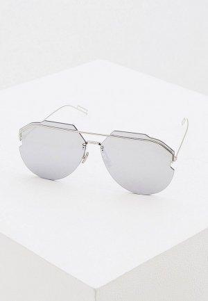 Очки солнцезащитные Christian Dior Homme ANDIORID 010. Цвет: серебряный
