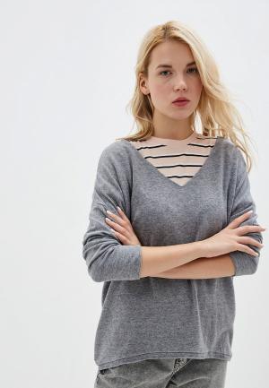 Пуловер Tantra. Цвет: серый