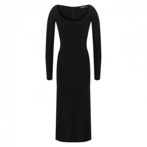 Платье-миди Dsquared2. Цвет: чёрный