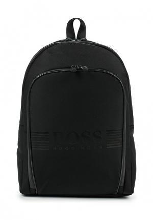 Рюкзак Boss Hugo. Цвет: черный